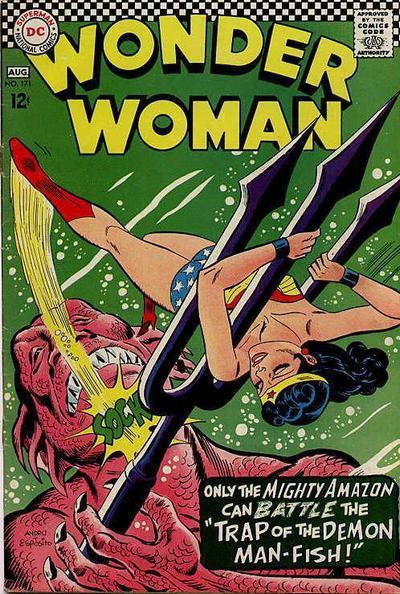 Wonder Woman 171 Julij-Avgust, 1967 Napad 50-1331