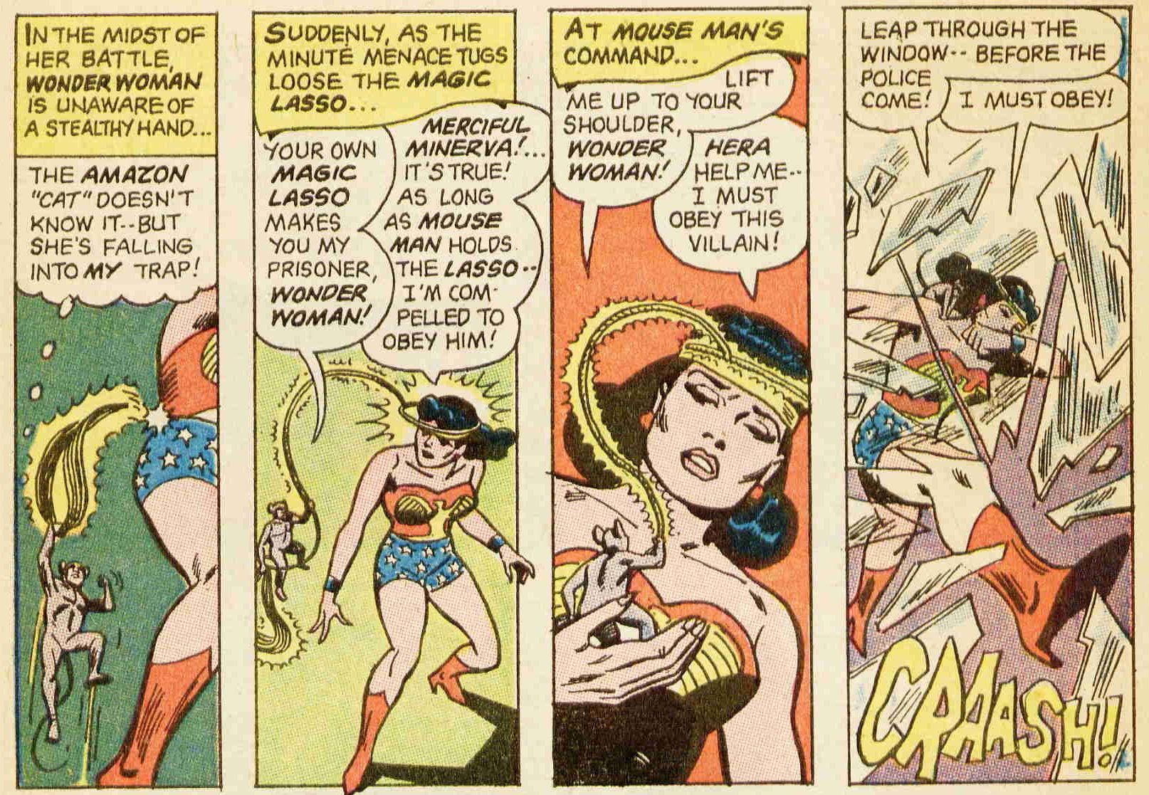 Wonder Woman 171 Julij-Avgust, 1967 Napad 50-2151