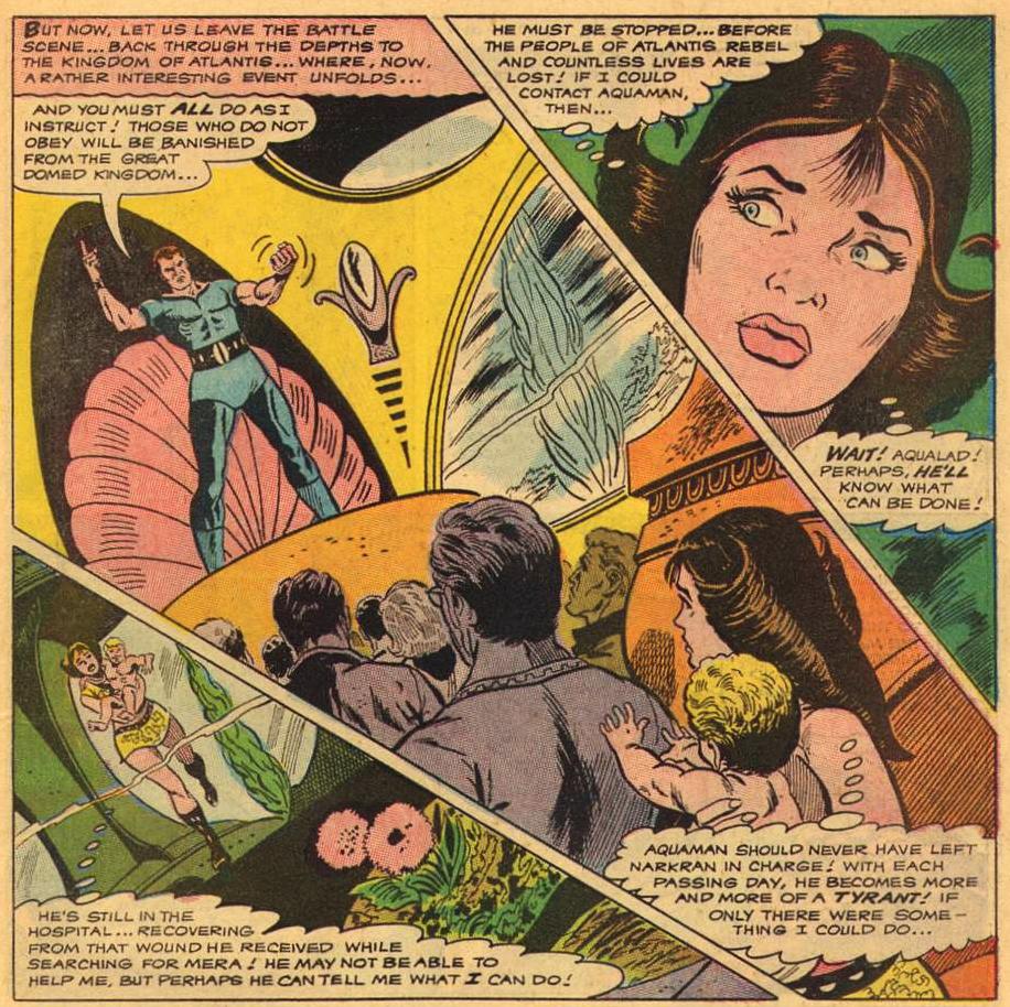 Aquaman #42 (Nov -Dec , 1968) | Attack of the 50 Year Old Comic Books