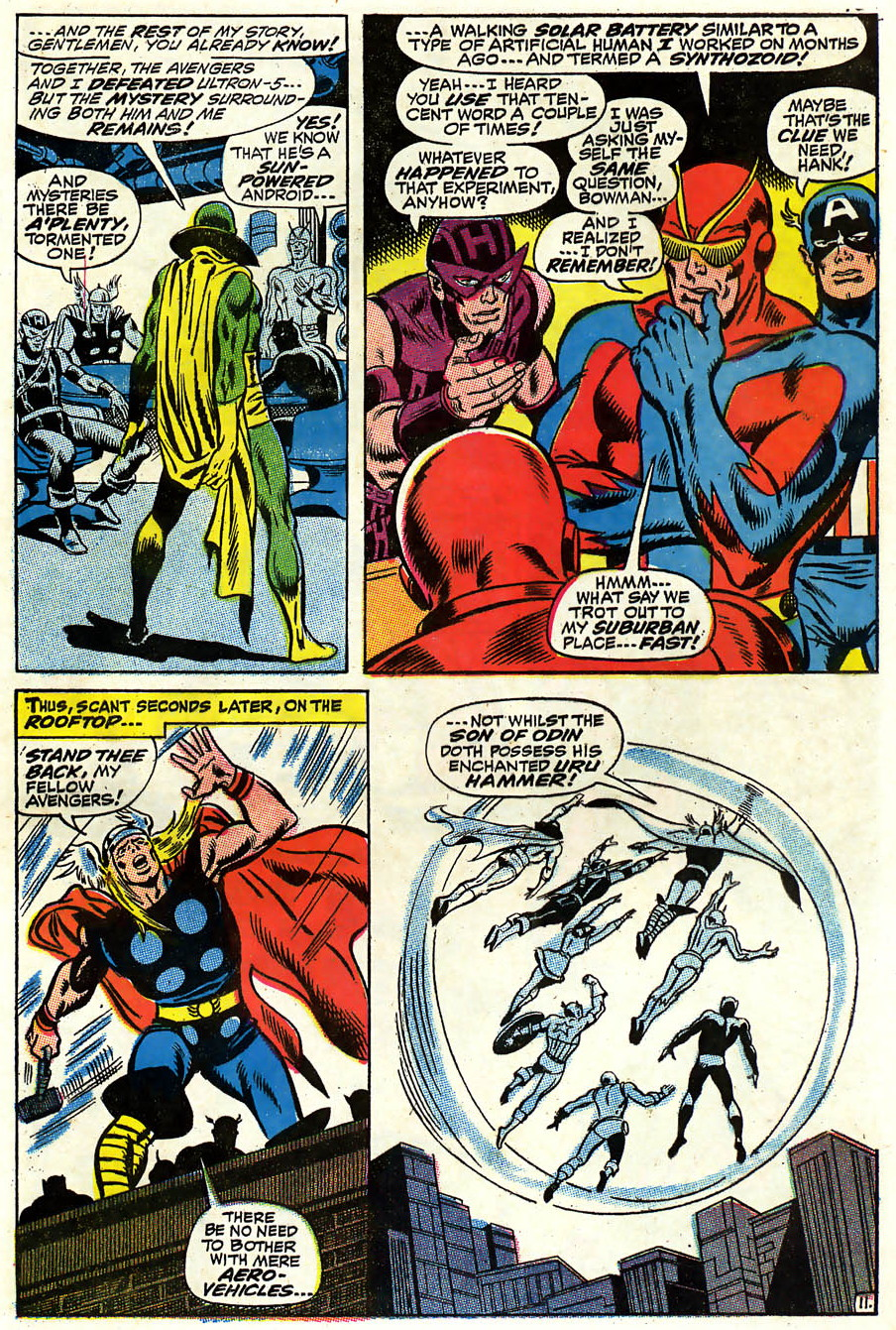 Avengers #58 (November, 1968)   Attack of the 50 Year Old Comic Books
