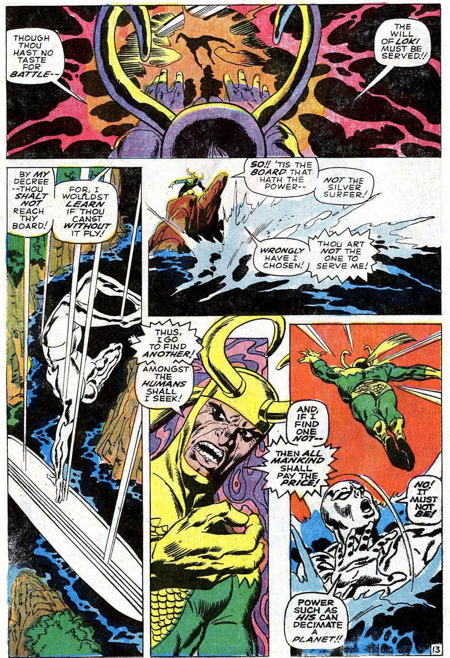 Silver Surfer #4 (February, 1969) | Attack of the 50 Year