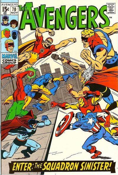 Avengers #70 (November, 1969)