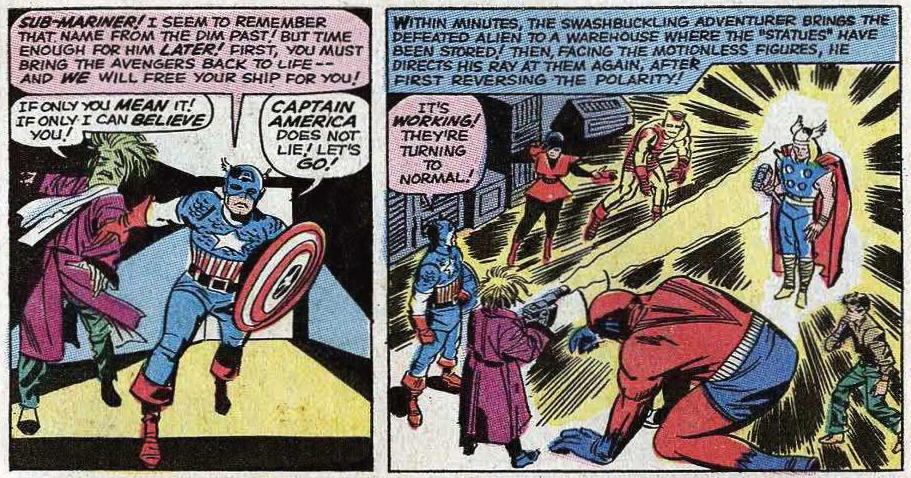 Avengers Annual 3 September 1969 Attack Of The 50 Year
